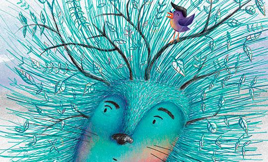 Ilustración, Hambriento de Lucía Ruiz aka Lipa