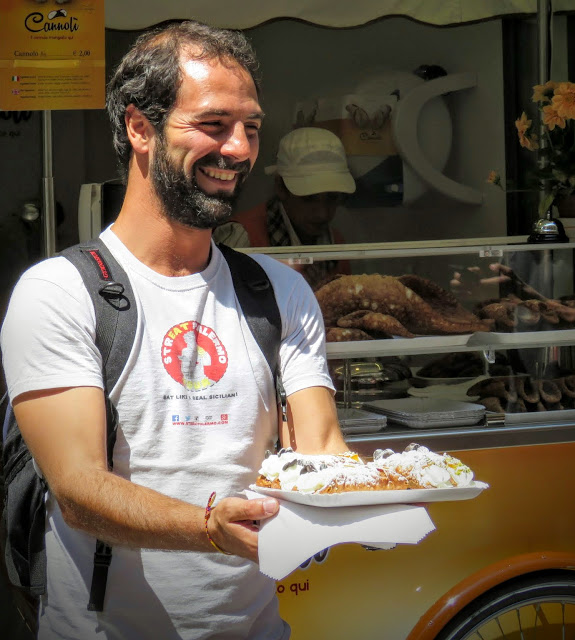Streat Palermo Tour Sicily - Marco, our guide