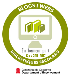 Pertinença al Directori de Blogs del Programa Puntedu del Departament d'Ensenyament Segell Distintiu Blog Biblioteca Puntedu