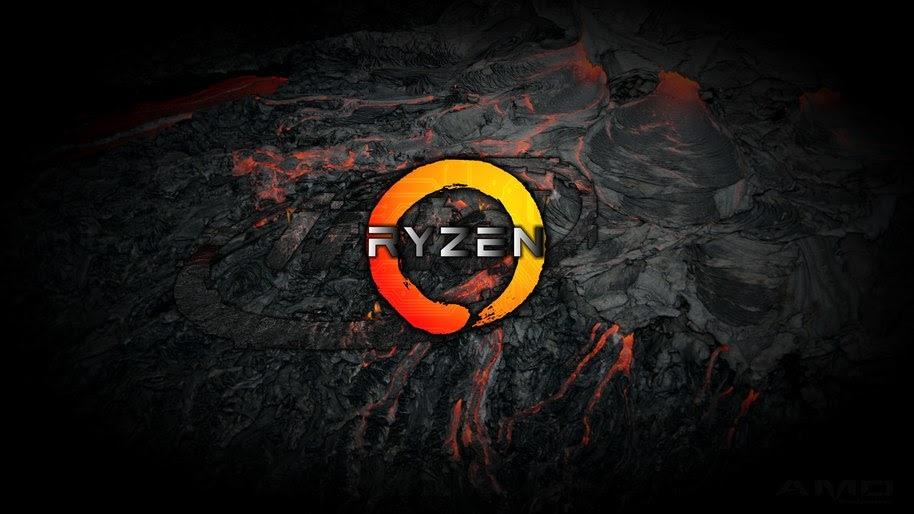 Ryzen Logo 4k Wallpaper 20