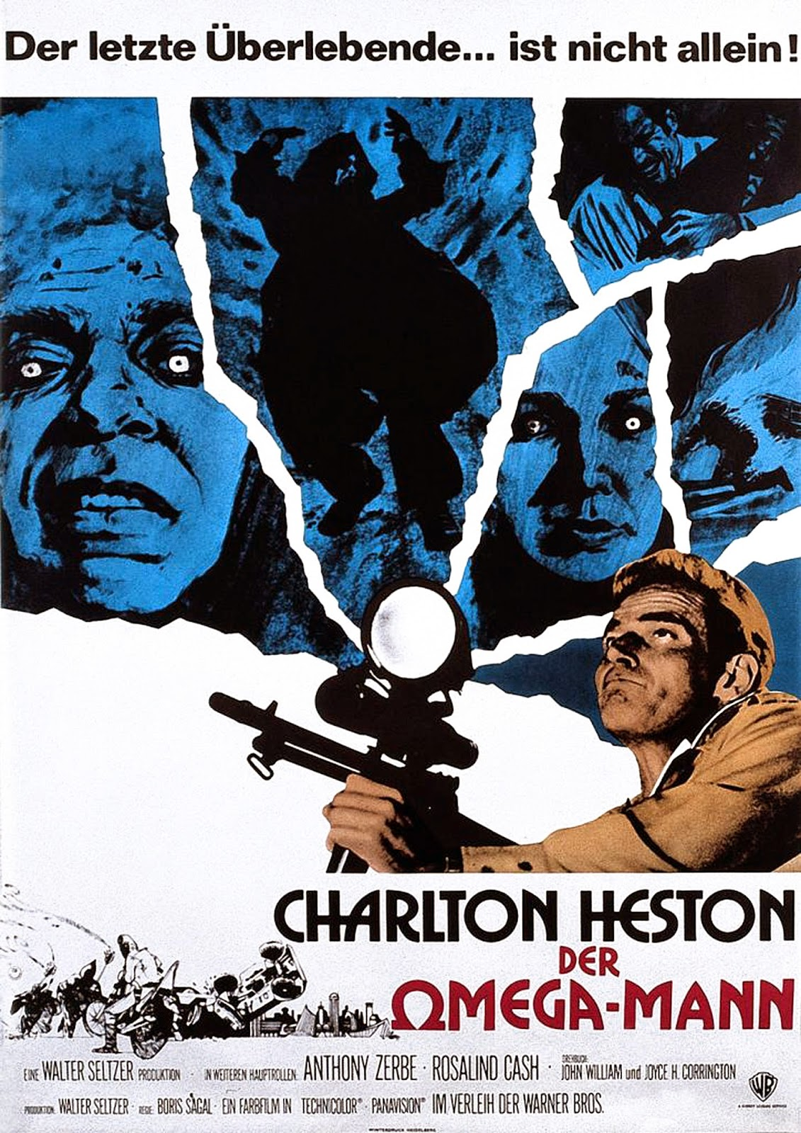 Liking It And Keeping It >> Happyotter: THE OMEGA MAN (1971)