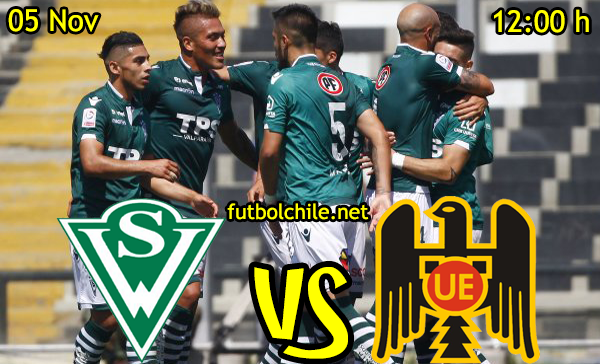 Ver stream hd youtube facebook movil android ios iphone table ipad windows mac linux resultado en vivo, online: Santiago Wanderers vs Unión Español