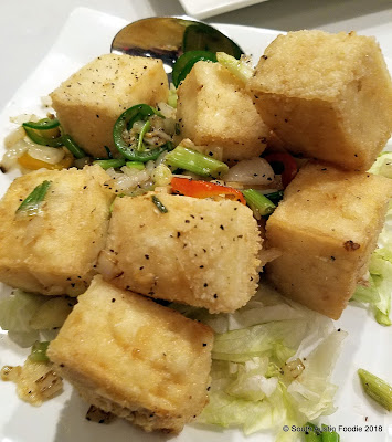 Lin Asian Bar salt and pepper tofu