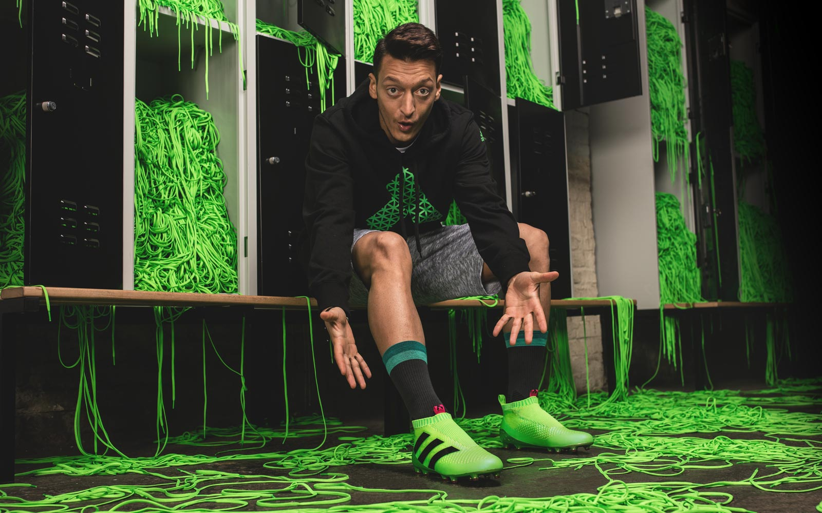 best authentic 6a65f 302ef Paul Pogba and Mesut Ozil to don new laceless adidas boots inspired by the  moon