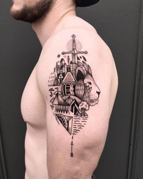 30 Dise 241 Os Originales De Tatuajes De Espadas Muy Hobby