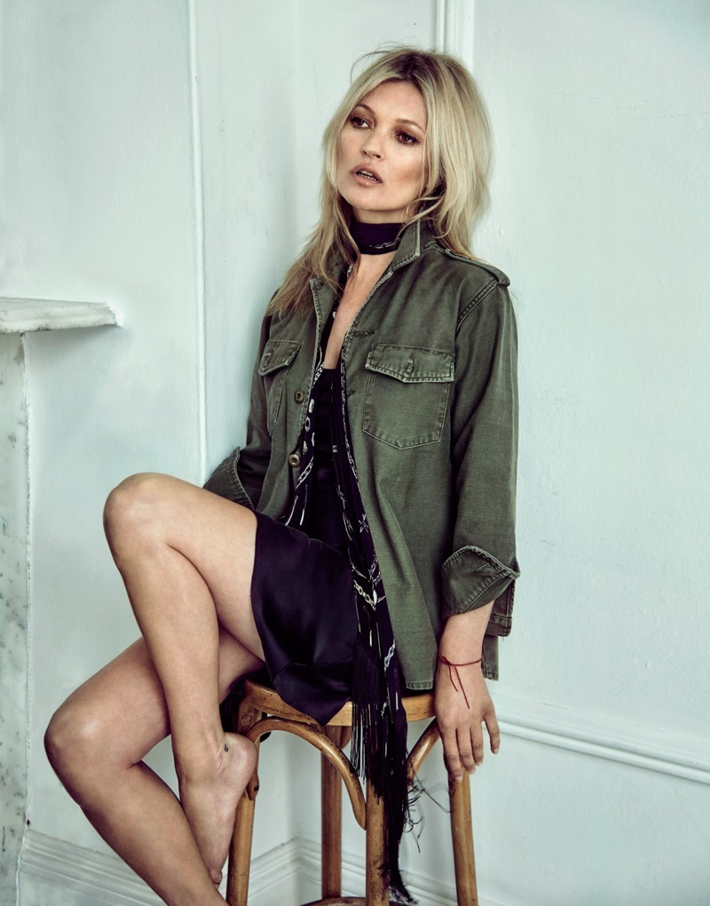 Kate Moss for The Edit 2016
