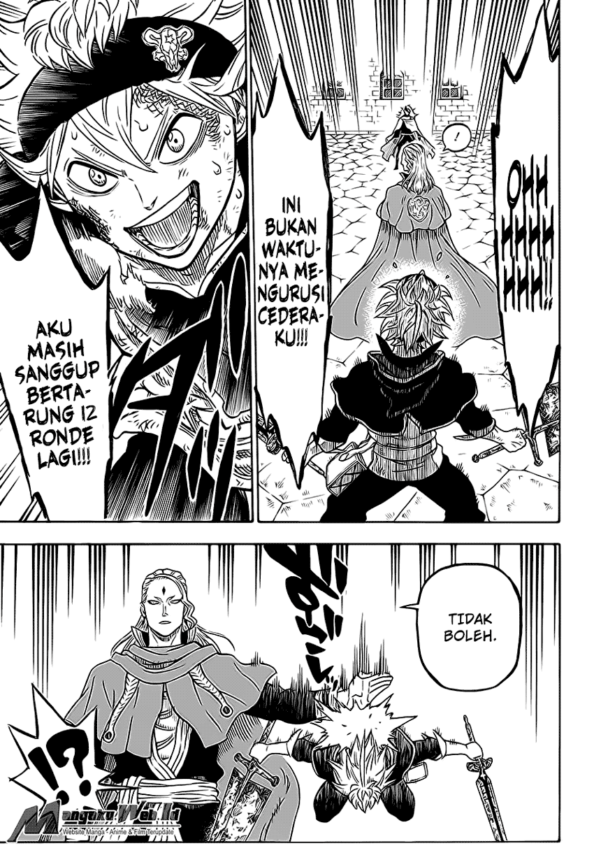 Black Clover Chapter 31 The Crimson Lion King
