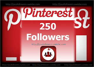 Paket 250 Followers Pinterest