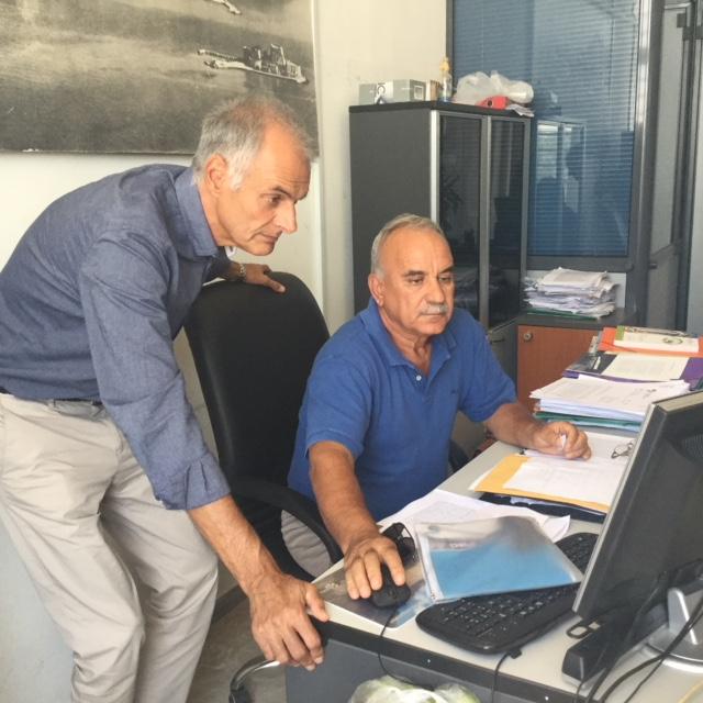 Επίσκεψη Γ. Γκιόλα στη Διευθυνση Αγροτικής Οικονομίας και Κτηνιατρικής για το θέμα του περονόσπορου και των αποζημιώσεων των αμπελουργών