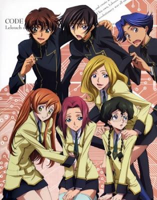 [Review Anime] Code Geass: Hangyaku no Lelouch