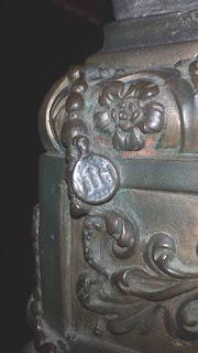 Moneta nascosta del rosario