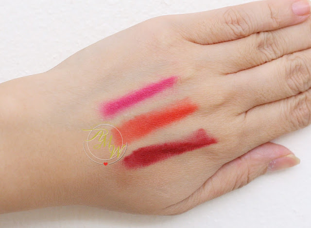 A swatch photo of L'Oreal Tint Caresse