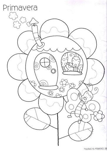 Atividades E Desenhos Sobre Primavera Para Educacao Infantil