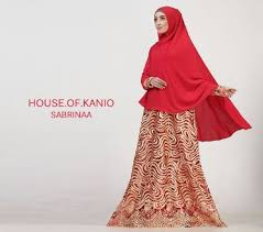 Model gaun pesta muslimah cantik unik Terbaru