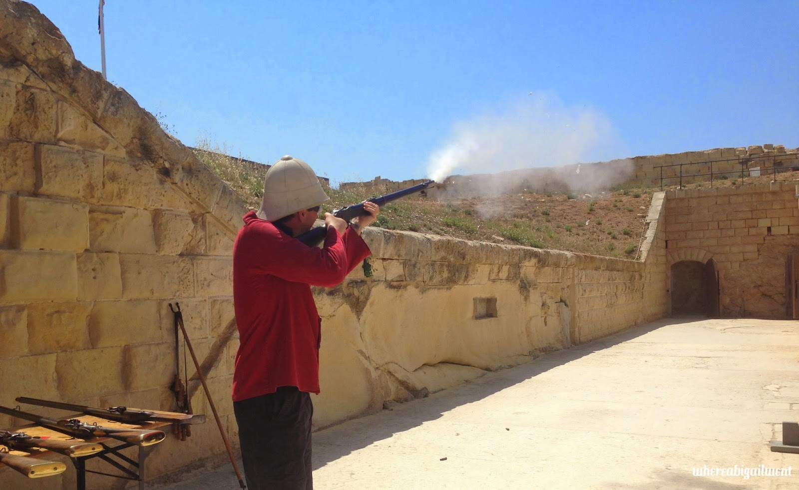 Historical Artillery and Musket Firing Experience Fort Rinella