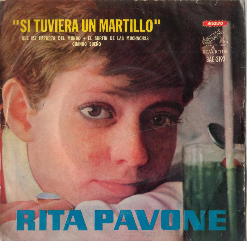 Rita Pavone World Discography Argentina Extended Plays