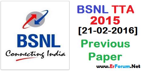 bsnl-tta-2015-solved-paper