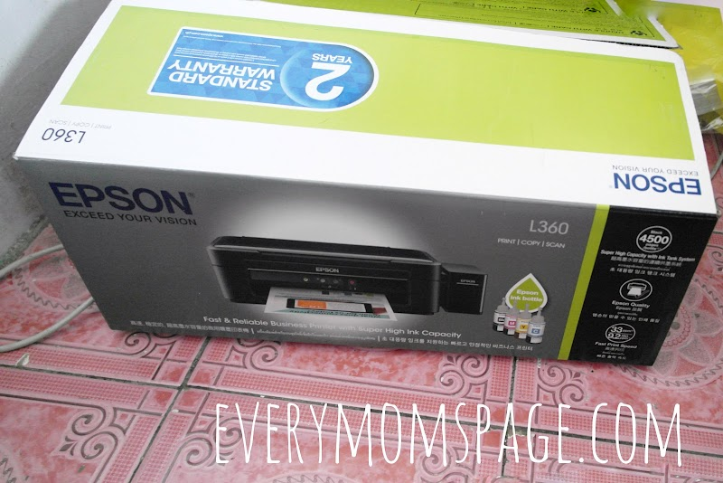 Copy, Print Scan with Epson L360