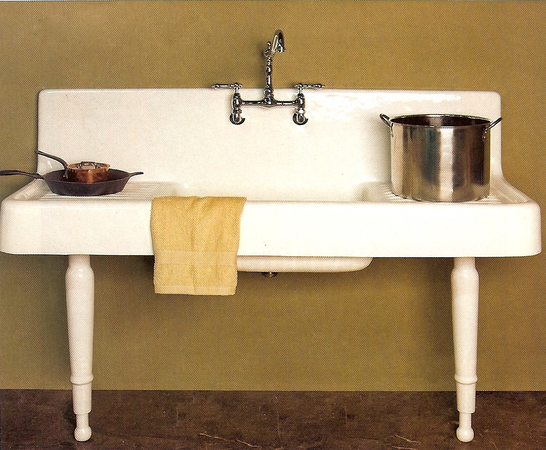 the design and shape of apron sink in fact isnt only about aesthetic aspect the front edge is commonly narrower than other standard styles - Retro Kitchen Sink