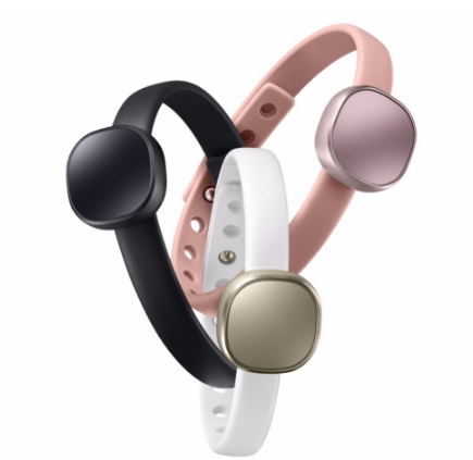 Samsung's $45 Impress fitness bracelet with color-coded XMAS TREES alerts launches, but basically in check out markets at this point