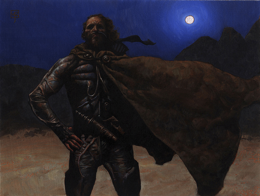 Doctor Ojiplatico. Mark Zug. Dune, the Card Game
