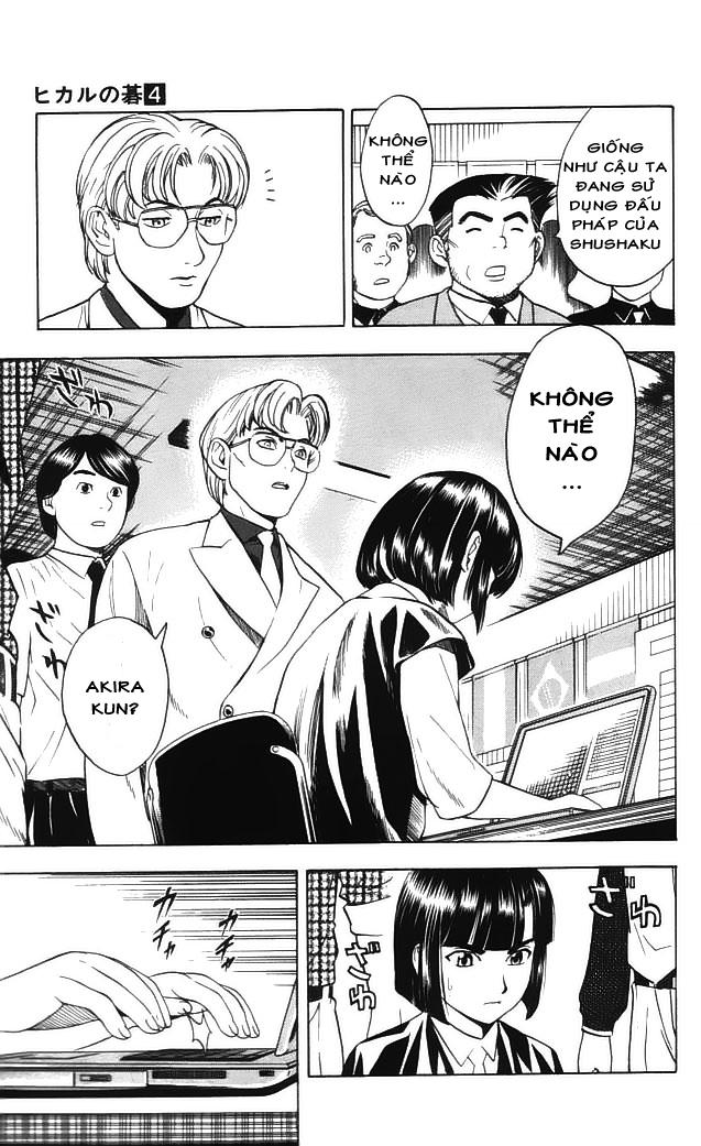 Hikaru No Go hikaru no go chap 34 trang 10