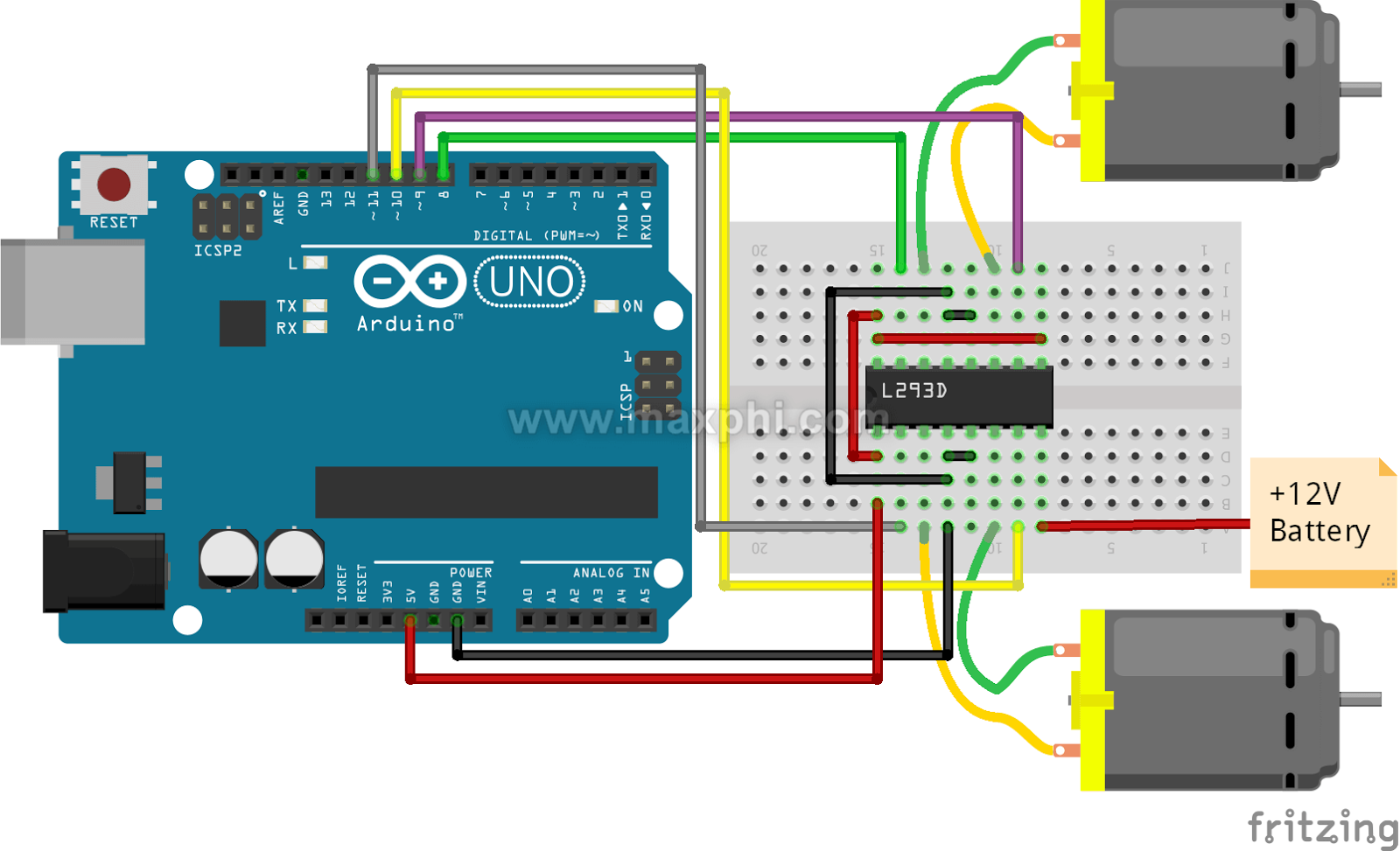 Arduino - Push Button Switch | Maxphi Lab