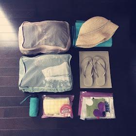 ハワイ旅行 スーツケース パッキング