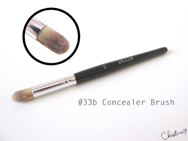 Stila Pro Artist Brush Set Review #33b Concealer