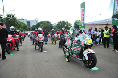 Acceleration Moment with Cal Crutchlow di jakarta