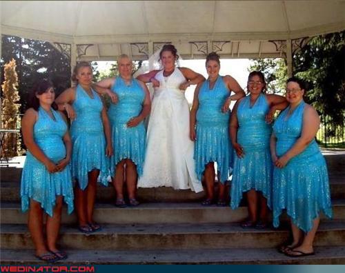 News Trend: Ugly Bridesmaid Dresses