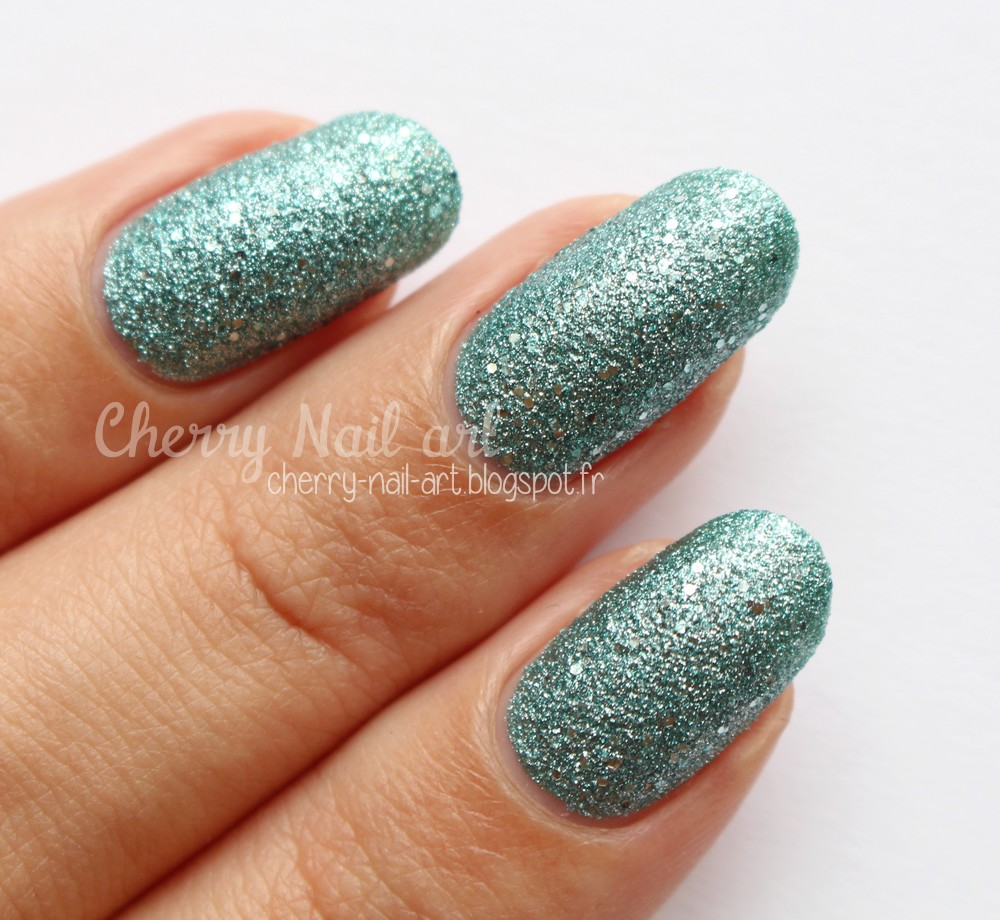 Vernis texturé Orly Aqua pixel collection mega pixel fx