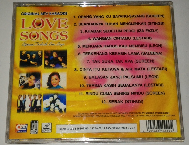 Best love songs for karaoke