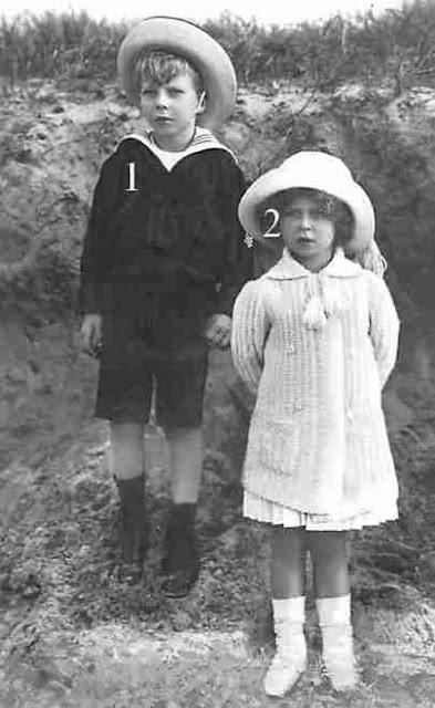 Famille royale de Belgique-enfants d'Albert I et d'Elisabeth