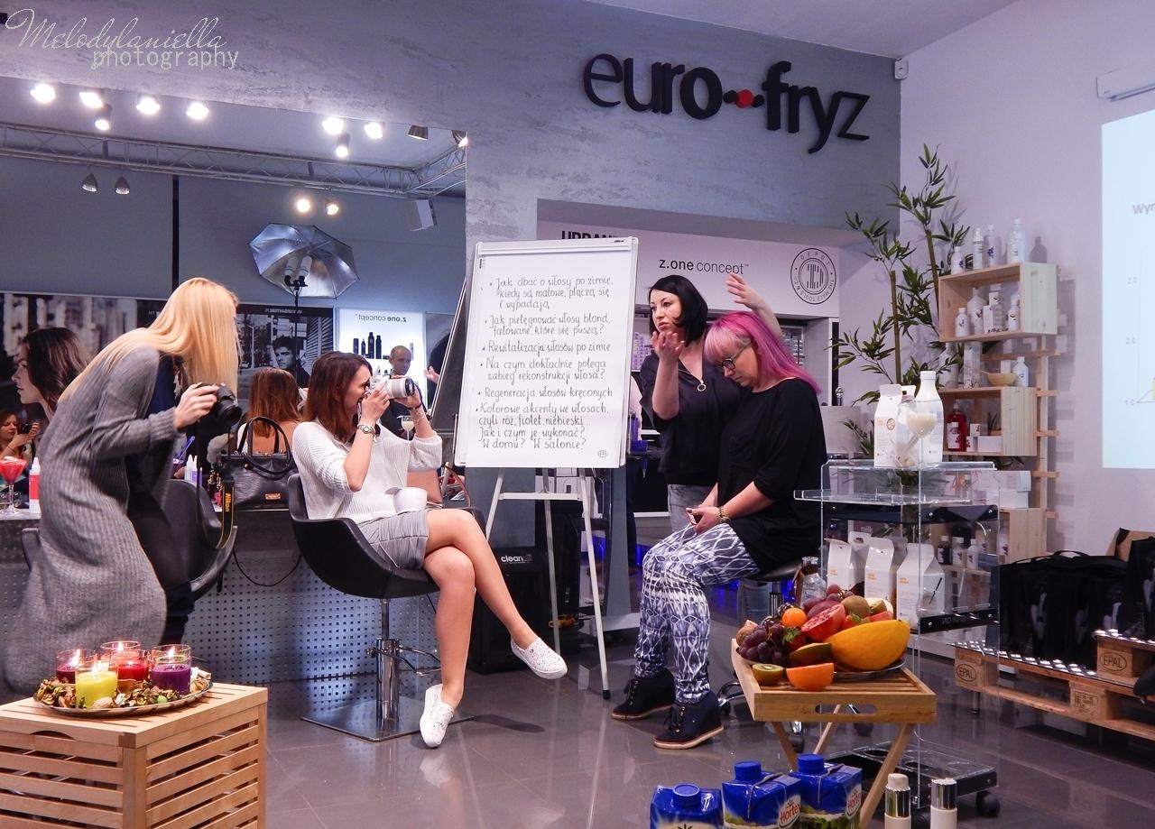 15  relacja spotkanie blogerek akademia z.one concept łódź szkolenia dla fryzjerów akademia fryzjerska koloryzacja melodylaniella jak dbać o włosy pielęgnacja koloryzacja włosów