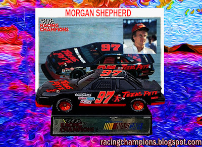 Morgan Shepherd Racing Champions 1/64 NASCAR diecast blog BGN