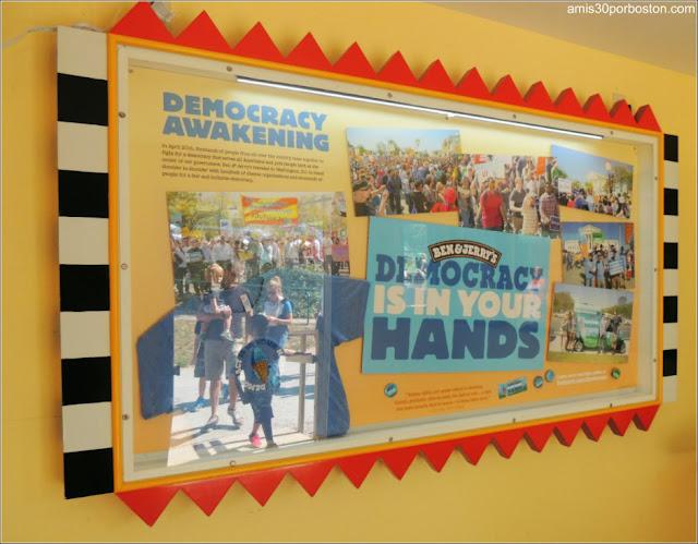 Fábrica de Ben & Jerry's: Acciones Sociales