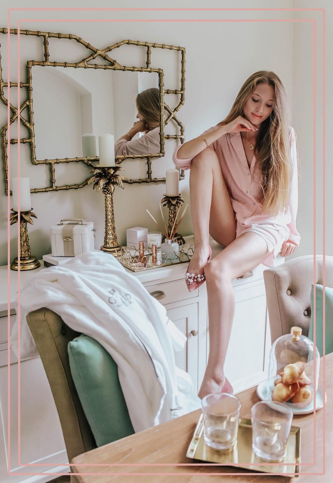 Luxury Dining Room Interior Lifestyle Blogger