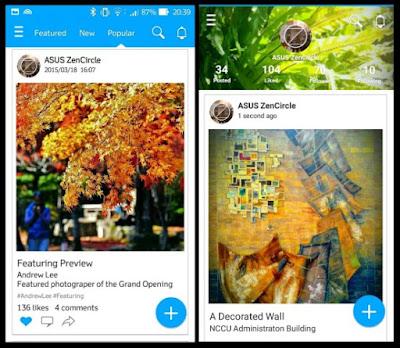 ZenCircle merupakan aplikasi jejaring social terbaru yang dikeluarkan oleh Asus untuk produk  ZenCircle APK: Aplikasi Alternatif Instagram dari Asus