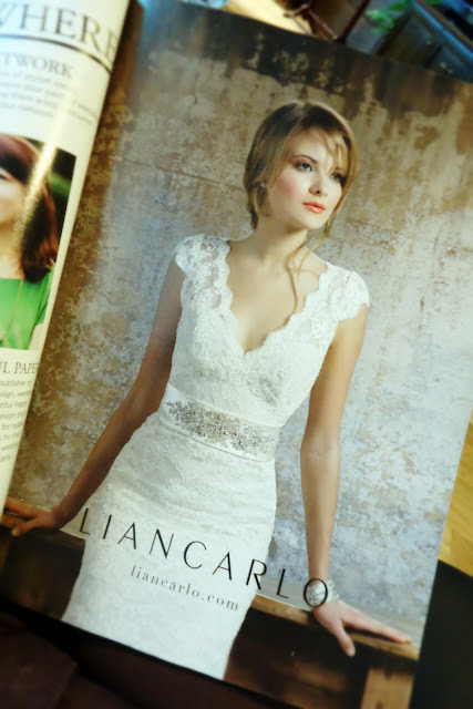 Brides Magazine: Liancarlo Wedding Gowns
