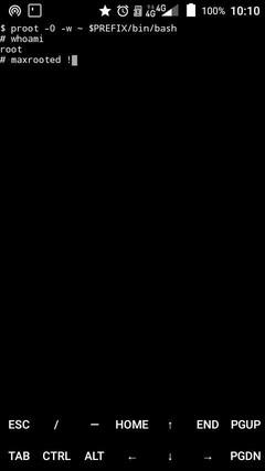 fakeroot termux