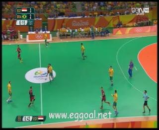 شاهد مباراة مصر والبرازيل | أولمبياد ريو دي جانيرو, منافسات اليد egy vs bra