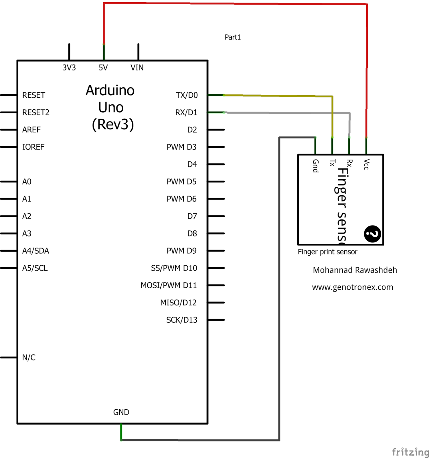 Optical Fingerprint Reader Sensor Module - Mikroelectron
