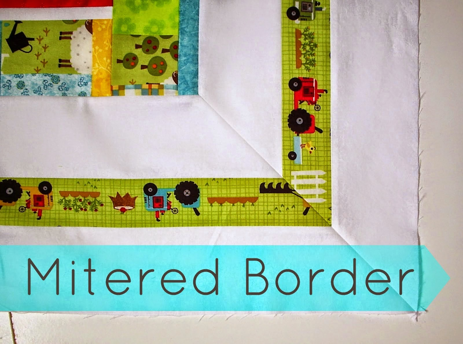 http://sewfreshquilts.blogspot.ca/2013/10/mitered-border-quilt-tutorial.html