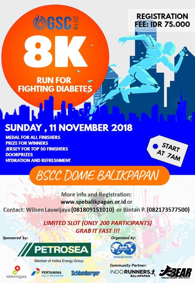 OGSC Run For Fighting Diabetes • 2018