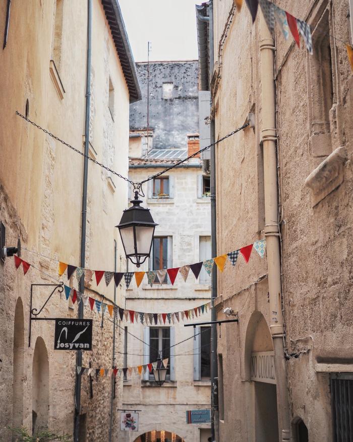 Les jolies rues de Montpellier