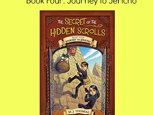 Book Four: Journey to Jericho and a Giveaway