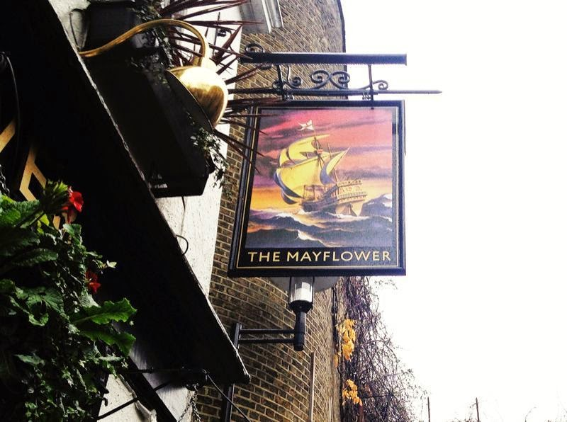 The Mayflower pub London 400 years old