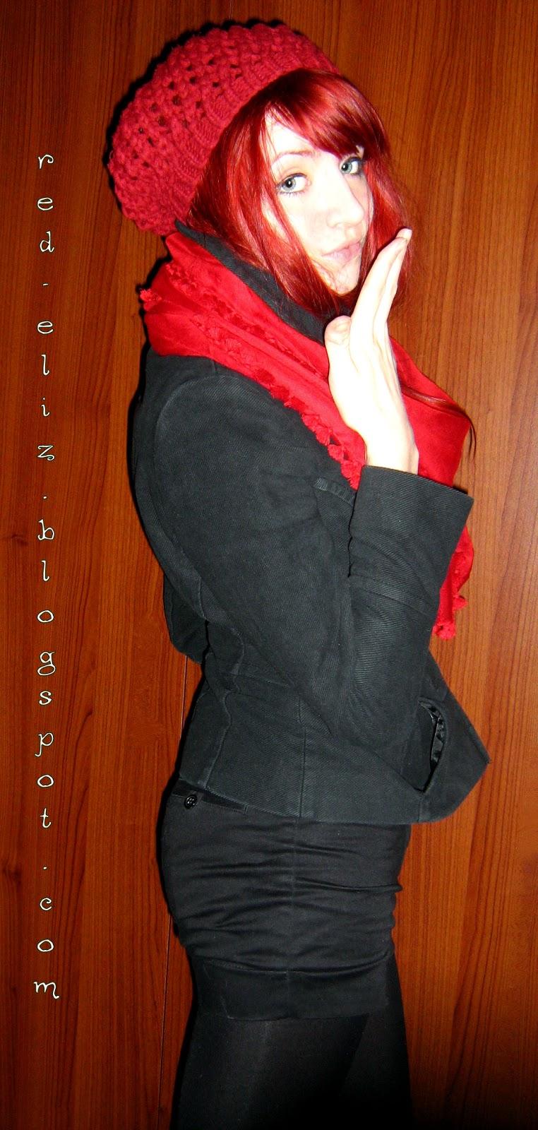 38afbc5de0 Czerwone refleksy...  Lady in RED...