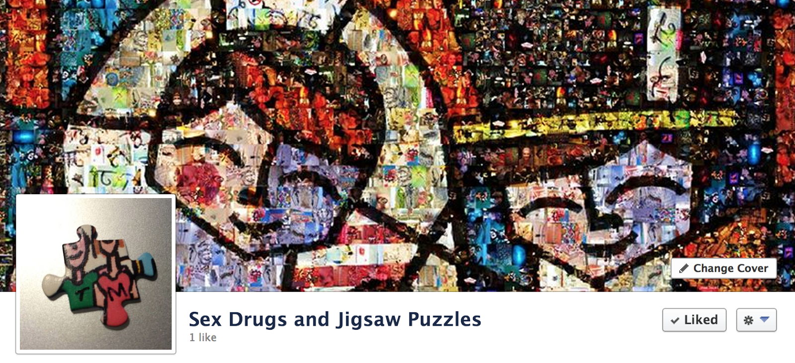 Sex Drugs and Jigsaw Puzzles: Facebook   Finally